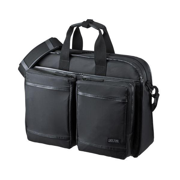 【送料無料】サンワサプライ 超撥水・軽量PCバッグ(3WAYタイプ) BAG-LW10BK