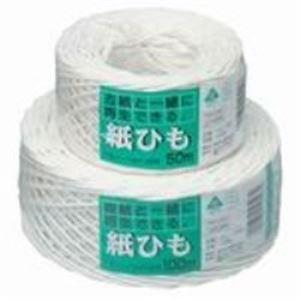 【送料無料】(業務用200セット) マルアイ 紙ひも カヒ-5W NO. 5 白