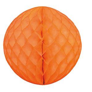 【送料無料】【訳あり・在庫処分】 (業務用20セット) hanaoka ハニカムボール30cm オレンジ