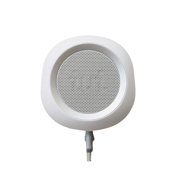 【送料無料】iui audio ウーファー搭載ポータブルスピーカー BeYo(ビーヨ) ホワイト×シルバー TR-4265/WHSV