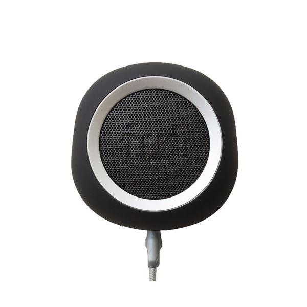 【送料無料】iui audio ウーファー搭載ポータブルスピーカー BeYo(ビーヨ) ブラック×シルバー TR-4265/BKSV