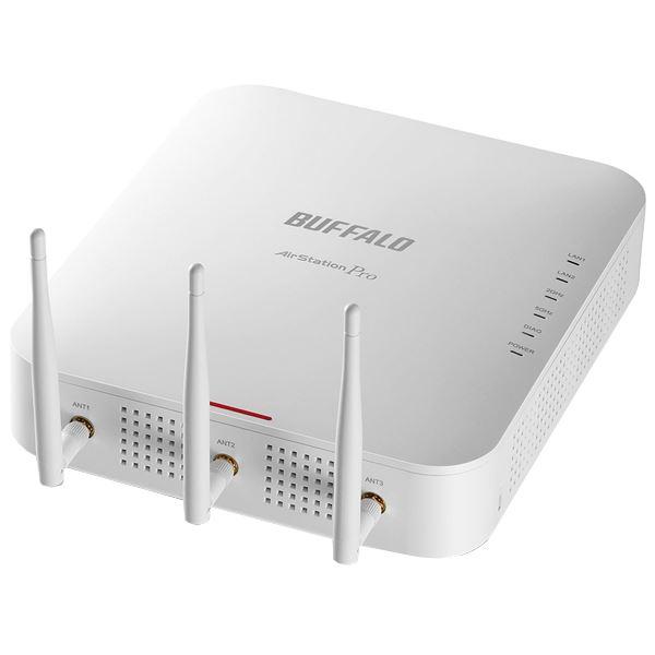 バッファロー エアステーション プロ インテリジェントモデル 法人様向け無線LANアクセスポイント11ac/n/a&11n/g/b 1300+450Mbps 同時接続 WAPM-1750D