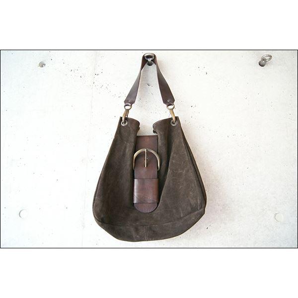【送料無料】★dean(ディーン) bag 茶 belt ベルトバッグ