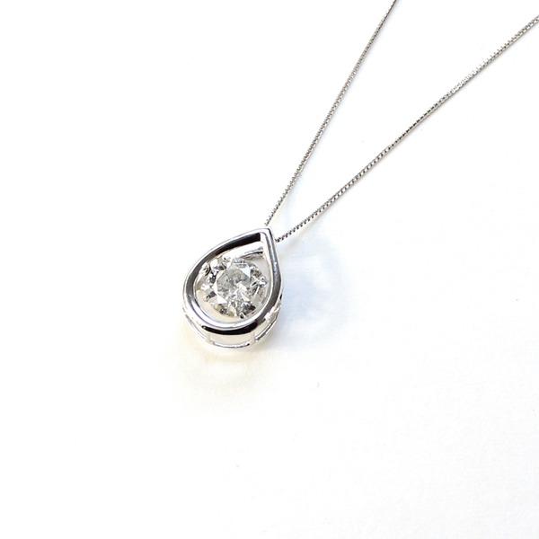 【送料無料】18金ホワイトゴールド 0.7ct ダイヤモンド ダンシングストーン 0.7ct ペンダント【代引不可】, とくしまけん:92085233 --- ww.thecollagist.com