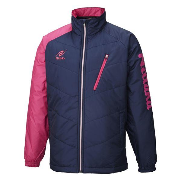 【送料無料】ニッタク(Nittaku) 卓球アパレル HOT WARMER ANV SHIRT(ホットウォーマーANVシャツ)男女兼用 NW2850 ピンク XO