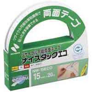 【送料無料】(業務用100セット) ニチバン ナイスタックエコ NW-15ECO 15mm×20m