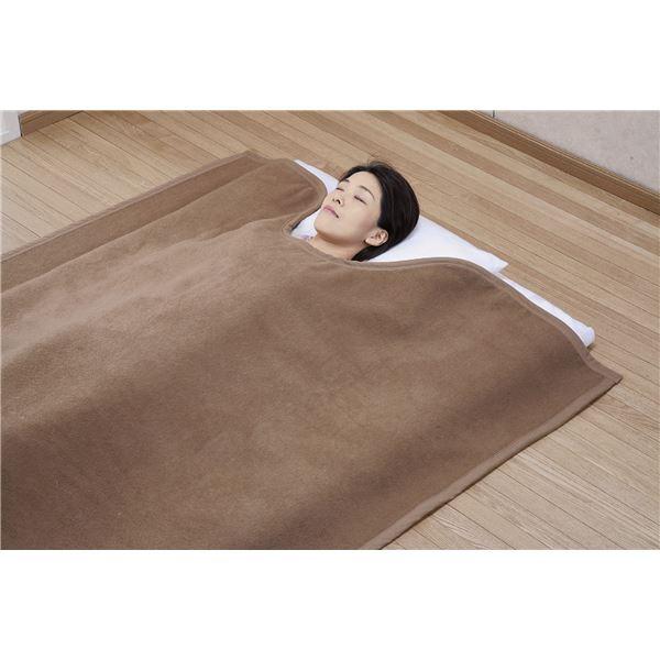 【送料無料】国産キャメル毛布(くりえり毛布) 【シングルサイズ】 140×230cm 日本製【代引不可】
