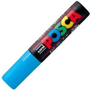 【送料無料】(業務用100セット) 三菱鉛筆 ポスカ/POP用マーカー 【極太/水】 水性インク PC-17K.8