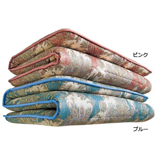 【送料無料】抗菌/防臭/防ダニ&バランス敷布団 【5: ダブルサイズ ピンク】 日本製