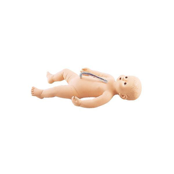 【送料無料】サカモトベビー/看護実習モデル人形 【女】 全身シームレス構造 臍帯付き M-107-4【代引不可】
