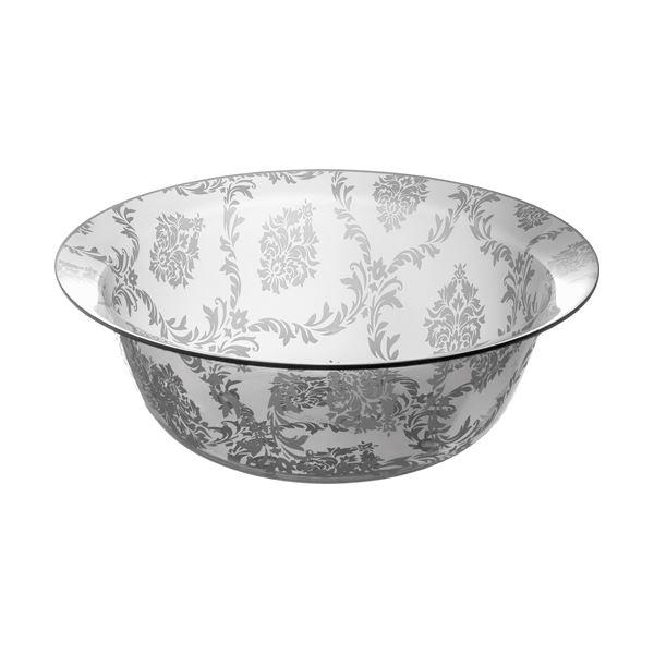 【送料無料】【12セット】リス ファッシーナ ウォッシュボールS クリアグレー おしゃれな洗面器・湯桶(手おけ)【代引不可】