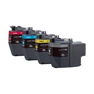 【送料無料】ブラザー 純正インクカートリッジ 大容量4色 LC3119-4PK 1パック(4色)