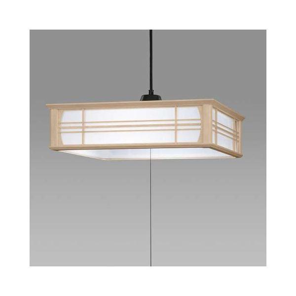 【送料無料】日立 LED和風木枠ペンダントライト~8畳 LEP-CA800EJ