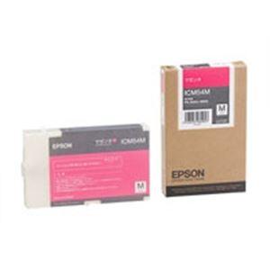 【送料無料】(業務用5セット) EPSON エプソン インクカートリッジ 純正 【ICM54M】 マゼンタ