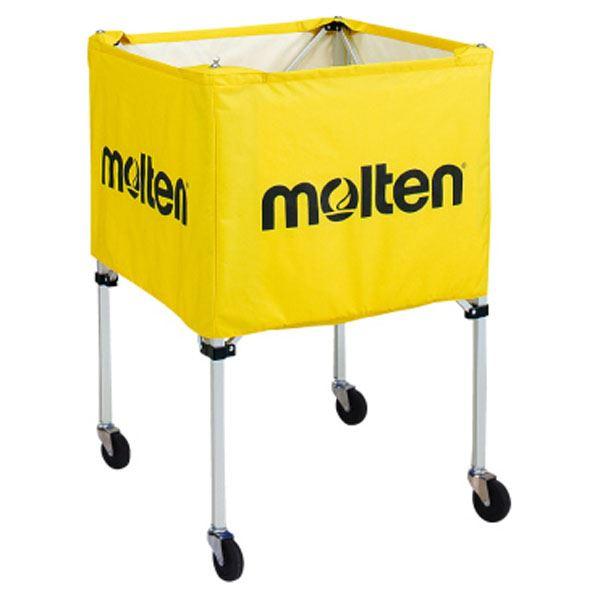【送料無料】モルテン(Molten) 折りたたみ式ボールカゴ(屋外用) 黄 BK20HOTY