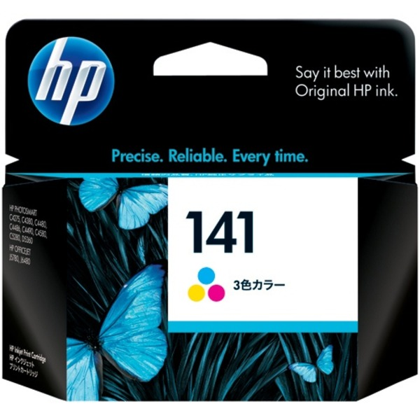 【送料無料】(業務用10セット) HP ヒューレット・パッカード インクカートリッジ 純正 【HP141 CB337HJ】 3色カラー