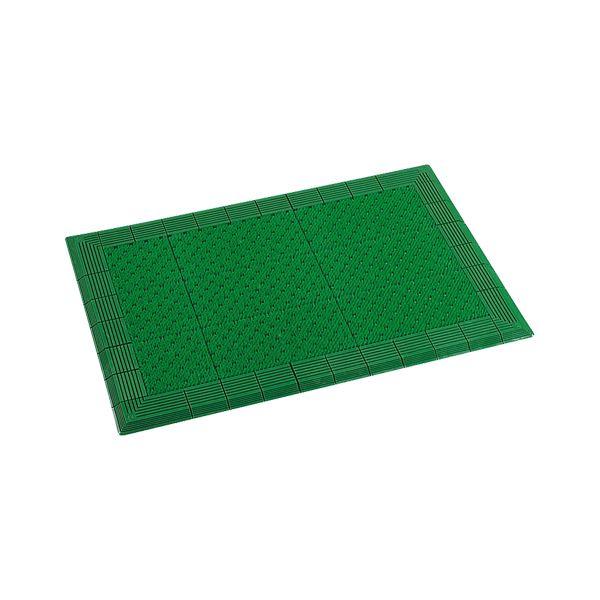 【送料無料】テラモト テラエルボーマット 900X1500 緑 MR0520521