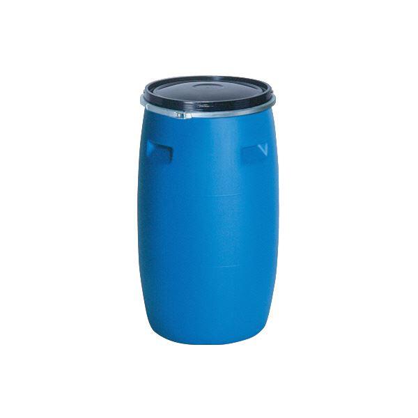 【送料無料】三甲(サンコー) 液体輸送用プラスチックドラム 【オープンタイプ】 PDO 200L-1 UN認定 ブルー(青)【代引不可】