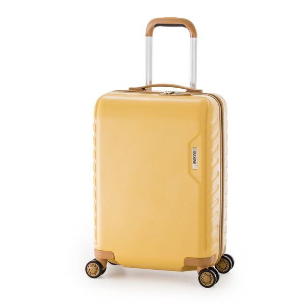 【送料無料】スーツケース/キャリーバッグ 【イエロー】 71L ダイヤル式 TSAロック アジア・ラゲージ 『MAX SMART』