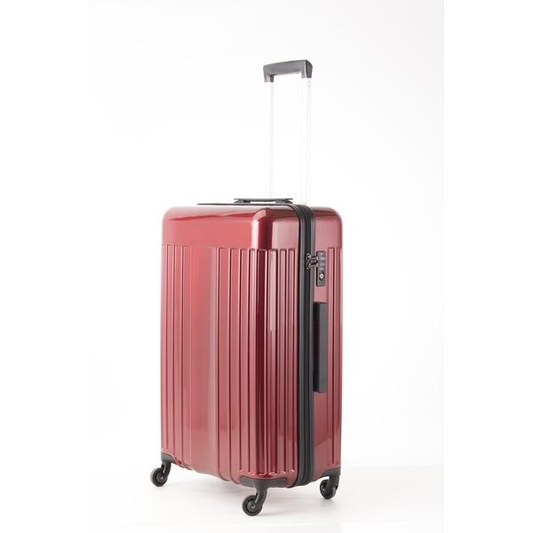 【送料無料】スーツケース/キャリーバッグ 【Mサイズ レッド】 60L 『マンハッタンエクスプレス ワーゲン』【代引不可】