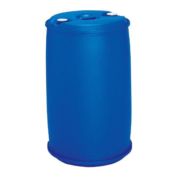 【送料無料】三甲(サンコー) 液体輸送用プラスチックドラム 【密閉タイプ】 PDC 200-2 P1(CR) ブルー(青)【代引不可】