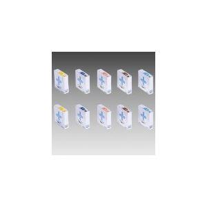 【送料無料】(業務用10セット) LIHIT LAB. カラーナンバーラベルHK753R-3 茶