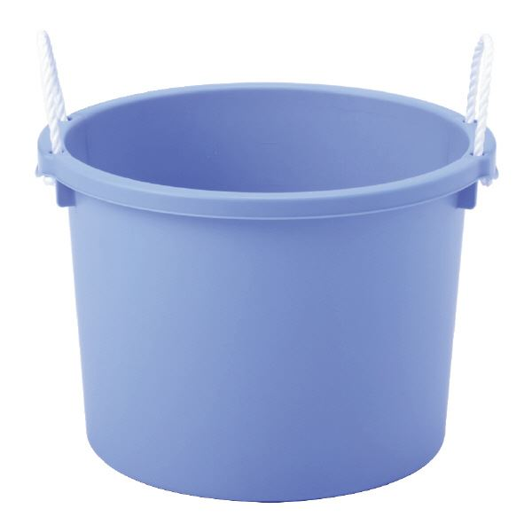 【送料無料】(業務用10個セット)三甲(サンコー) タブ#30L(ロープ付き)ブルー【代引不可】