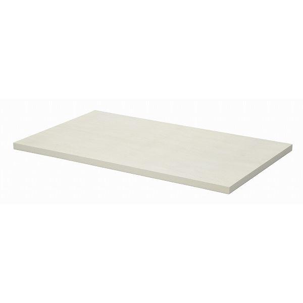 【送料無料】テーブルキッツ テーブル用天板 【Mサイズ ホワイト】 幅120cm×奥行75cm×高さ3.5cm メラミン製【代引不可】