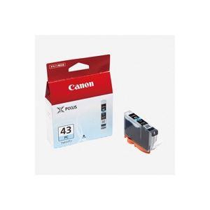 【送料無料】(業務用40セット) Canon キヤノン インクカートリッジ 純正 【BCI-43PC】 フォトシアン
