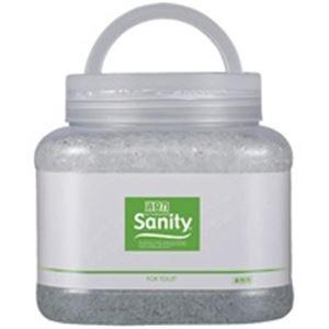 【送料無料】(業務用30セット) エステー サニティー 消臭剤1.7kg トイレ森林の香