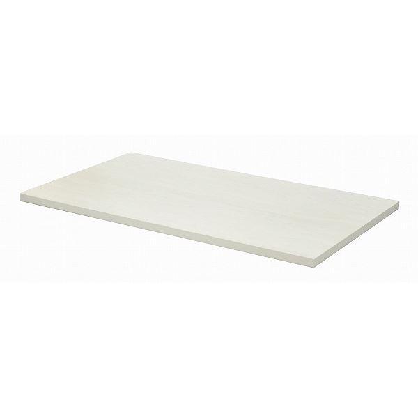 【送料無料】テーブルキッツ テーブル用天板 【Lサイズ ホワイト】 幅140cm×奥行85cm×高さ3.5cm メラミン製【代引不可】