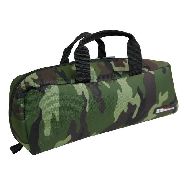 (業務用20セット)DBLTACT トレジャーボックス(作業バッグ/手提げ鞄) Sサイズ 自立型/軽量 DTQ-S-CA 迷彩 〔収納用具〕