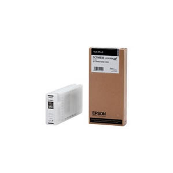 【送料無料】(業務用3セット) 【純正品】 EPSON エプソン インクカートリッジ 【SC1MB35 MBK マットブラック】