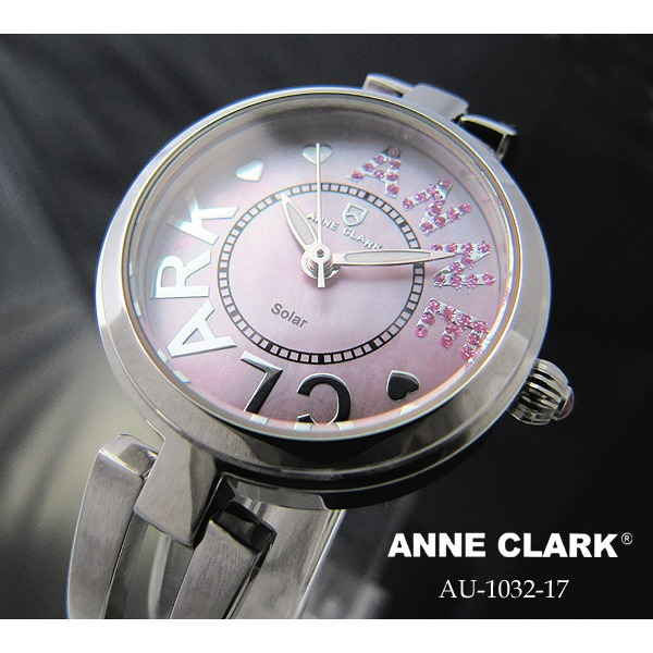 【送料無料】アンクラーク レディース ソーラー腕時計 AU1032-17