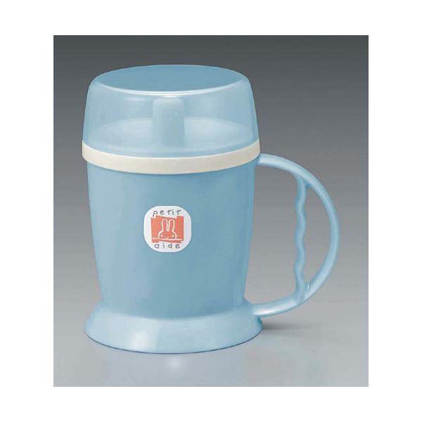 【送料無料】(業務用10セット) 台和 吸い口付マグカップ HS-N12 ブルー