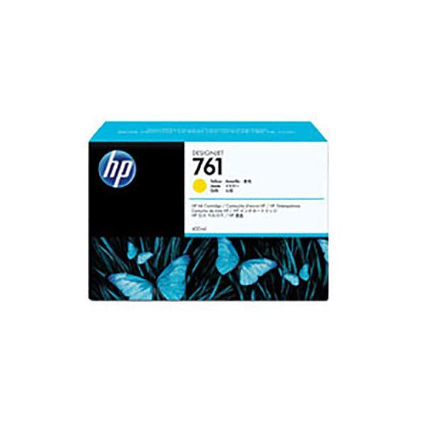 【純正品】 HP インクカートリッジ 【CM992A HP761 Y イエロー】