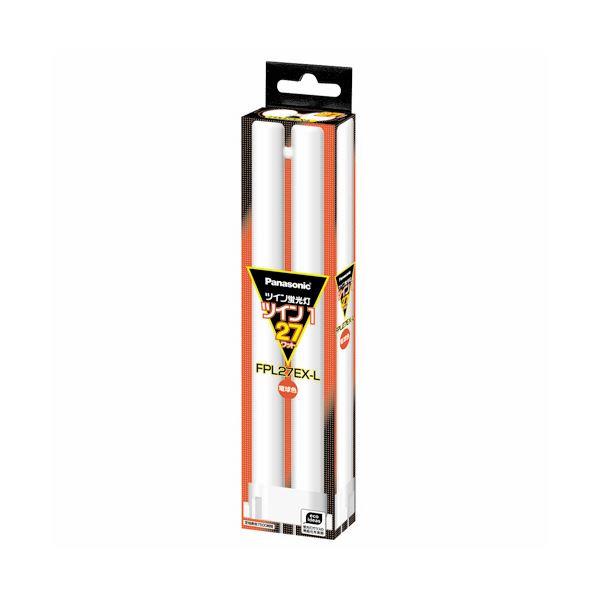 【送料無料】(まとめ) パナソニック ツイン蛍光灯 ツイン1 27W形 電球色 FPL27EX-L(1個) 【×6セット】