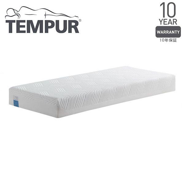 【TEMPUR テンピュール】 低反発マットレス 【シングル】 幅21cm やわらかめ 洗えるカバー付き 正規品 『クラウドスプリーム21』【代引不可】