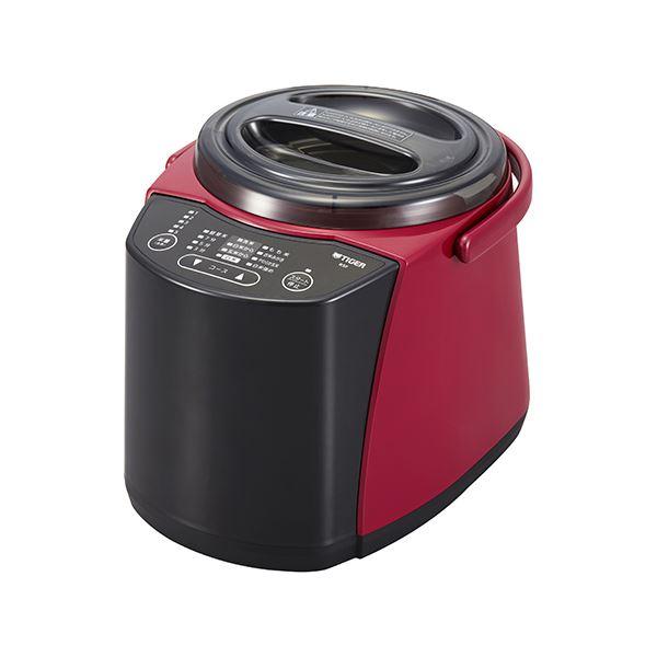 【送料無料】タイガー魔法瓶 精米器(無洗米機能つき) 1~5合炊き レッド