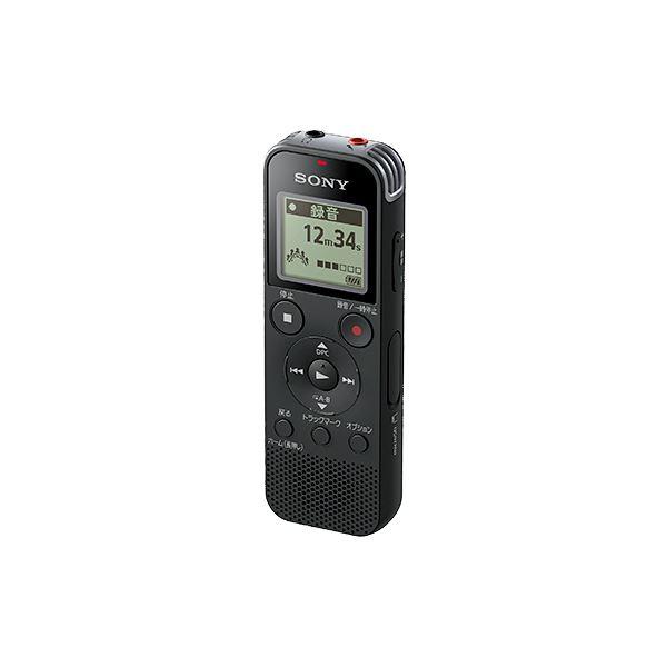 ステレオICレコーダー 4GB ブラック