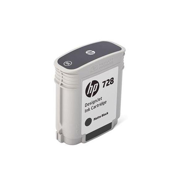 【送料無料】(まとめ)HP HP728 インクカートリッジブラック 69ml F9J64A 1個【×3セット】