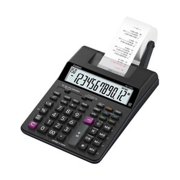 【送料無料】カシオ プリンター電卓 HR-170RCBK 1台