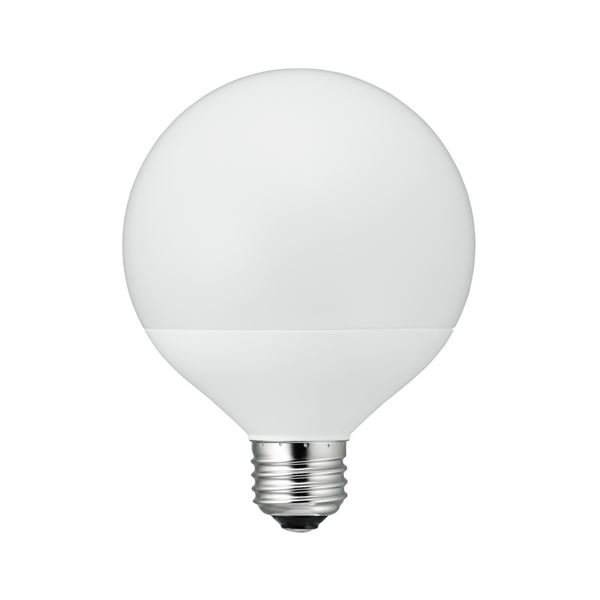 5個セット YAZAWA G95ボール形LED 100W相当 E26 N色 LDG13NG95X5