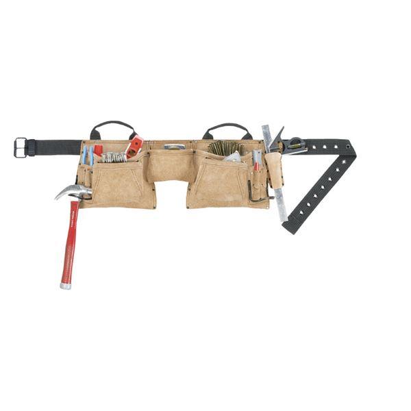 【送料無料】KUNY'S(クニーズ) AP-527X 腰袋(両側・ベルト付)
