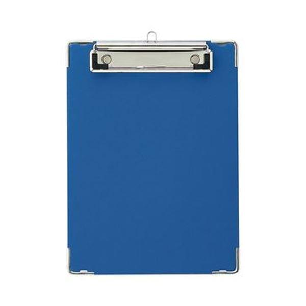 【送料無料】(まとめ)TANOSEE 用箋挟 A5タテ ブルー 1枚【×50セット】