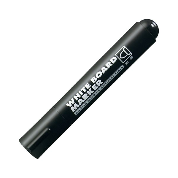 【送料無料】(まとめ) コクヨ ホワイトボード用マーカーペン 太字 黒 業務用パック PM-B103ND 1箱(10本) 【×10セット】