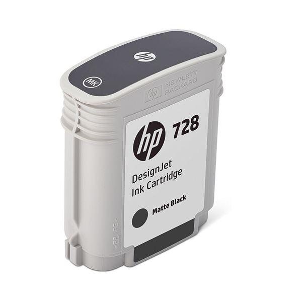 【送料無料】HP HP728 インクカートリッジブラック 69ml F9J64A 1個