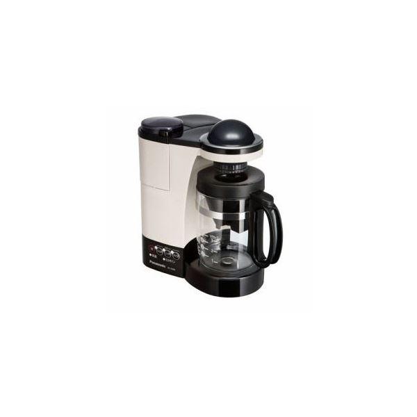 【送料無料】Panasonic ミル付き浄水コーヒーメーカー カフェオレ NC-R400-C