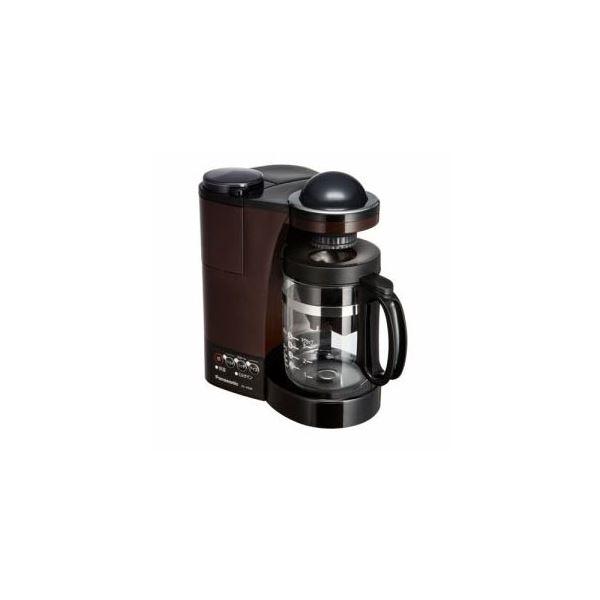 【送料無料】Panasonic ミル付き浄水コーヒーメーカー ブラウン NC-R500-T