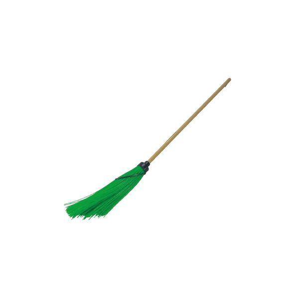 【送料無料】(まとめ)コンパル プラホーキ(竹ほうきタイプ)【×5セット】